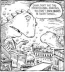 Cartoonist Dave Coverly  Speed Bump 2006-03-20 professional athlete